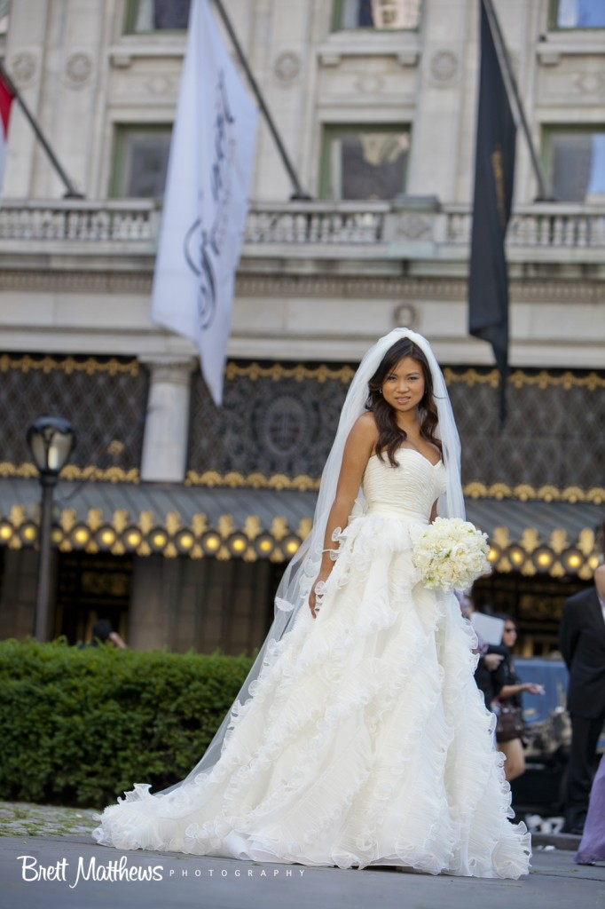 Real Wedding Aileen James New York Ny City Blossoms