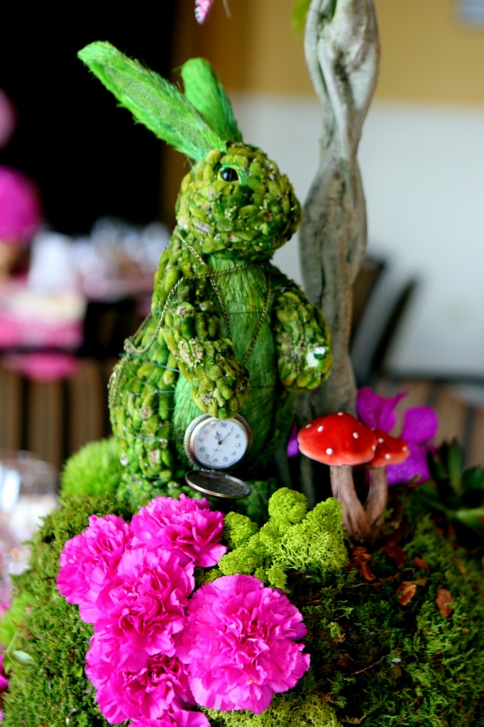 whimsical  stylish alice in wonderland st birthday party  city, Garden idea